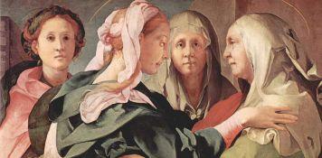 Pontormo, Visitazione di Carmignano (particolare), 1528-1530 circa.